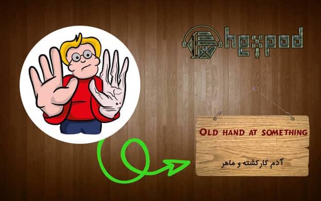 اصطلاح زبان انگلیسی - سطح مبتدی - Idioms - Old hand at something