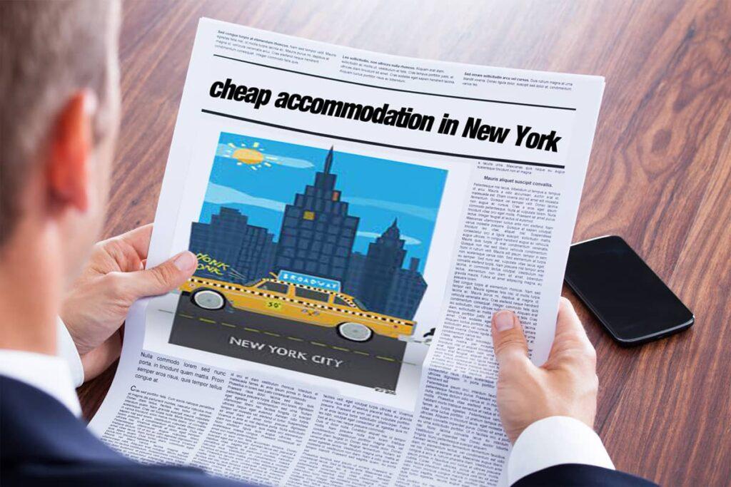 متن خبر انگلیسی - Cheap Accommodation in New York - English News