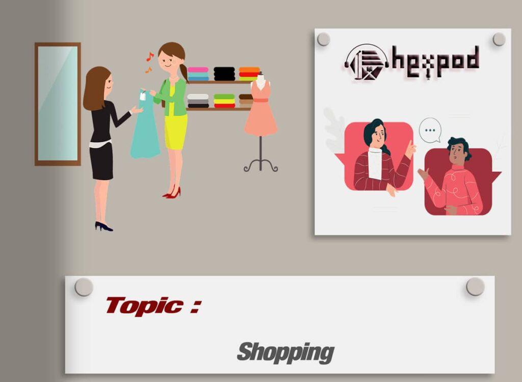 مکالمه موضوعی زبان انگلیسی - سطح مبتدی - Shopping - English conversation