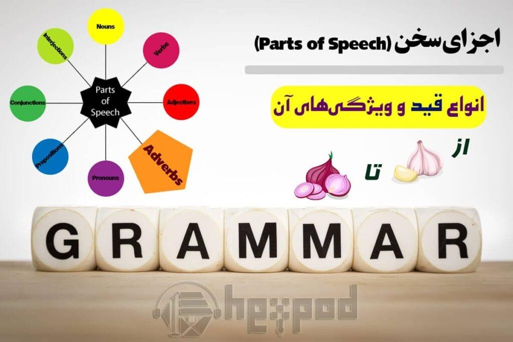 اجزای سخن در زبان انگلیسی - انواع قید و ویژگیهای آن - Parts of Speech in English (Adverbs)